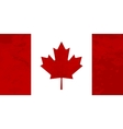 True proportions Canada flag with texture vector image