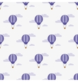 Air balloon Pattern vector image