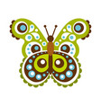 colorful beautiful butterfly vector image