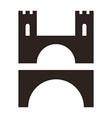 Set of bridges vector image vector image