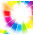 abstract rainbow gradient mesh multi colored vector image