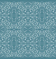 blue tiles with seamless pattern vector image