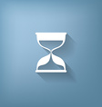 hourglass waiting icon expectations vector image