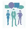 Business text speak vector image