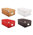 storage box set vector image