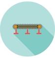 Conveyor I vector image