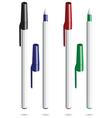 ballpoint pen vector image vector image
