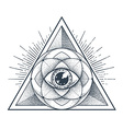 Sacred Geometry vector image vector image