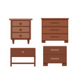 furniture cartoon vector image