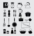 houseware set vector image
