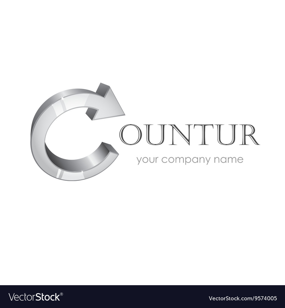 Company logotype isolated on white vector