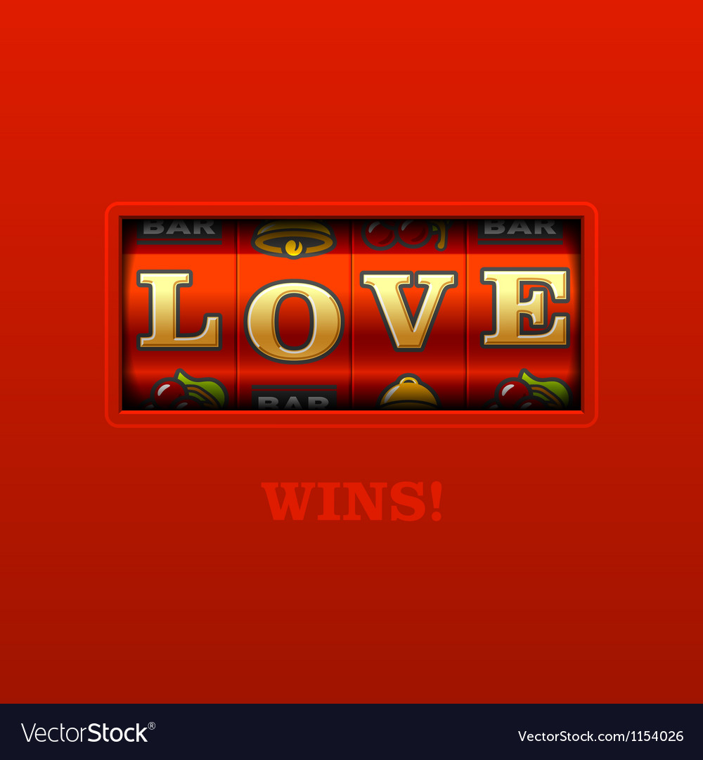 Love wins vector