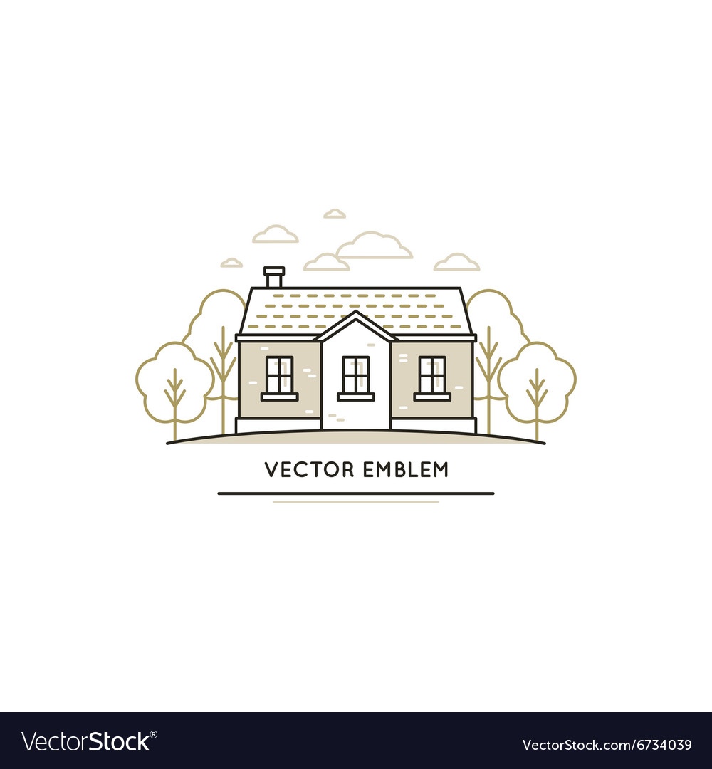 Logo design template vector