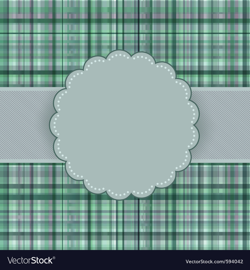 Vintage card background vector