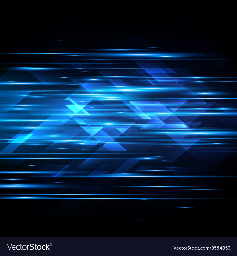 High speed hitech abstract technology vector