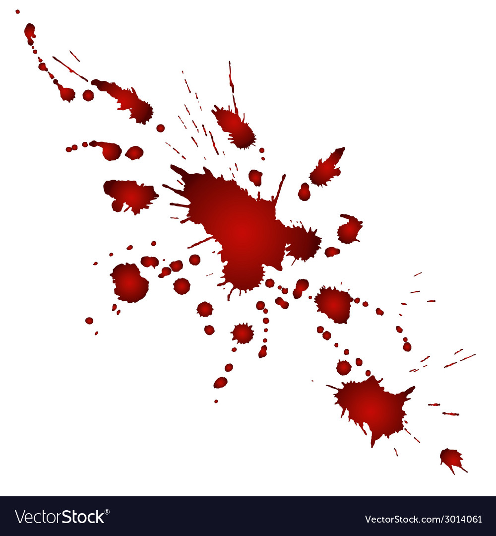 Bloody blobs vector