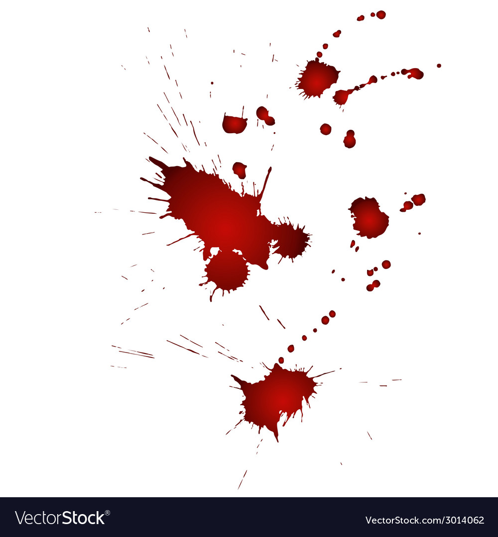 Drops of blood vector