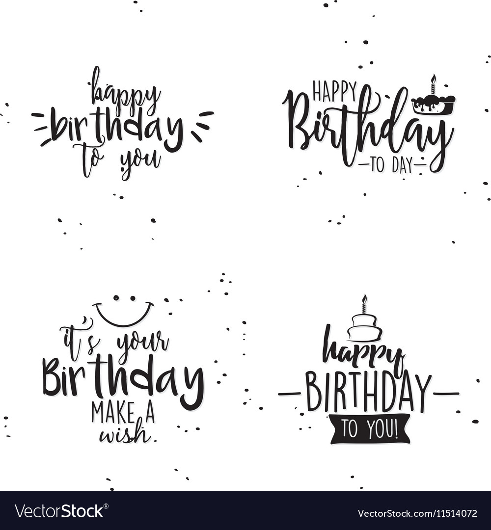 Happy birthday background vector