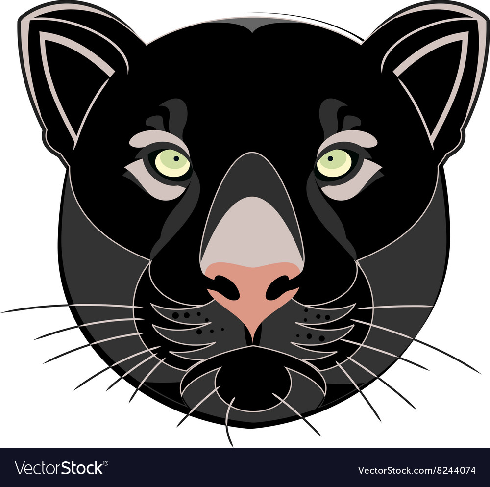 Blackpantherhead380x400 vector