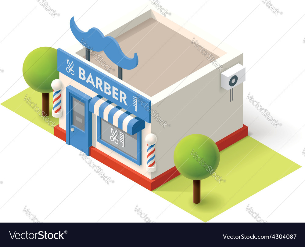 Isometric barbershop vector