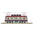 Electric Locomotive vector image