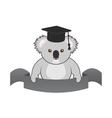 student koala vector image