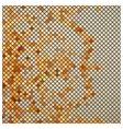 vintage mosaic vector image