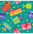 Seamless present pattern vector image