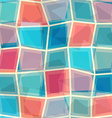 colorful mosaic seamless pattern vector image