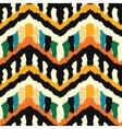 Zigzag Ethnis Pattern vector image