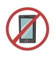 Turn off phone vector image