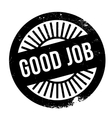 Good job stamp vector image