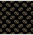 coffee beans luxury vector image