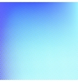 Halftone background Blue spotted pattern vector image