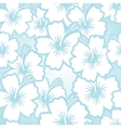 Hibiscus floral pattern vector image