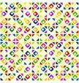Seamless bright geometric pattern vector image