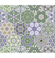 Abstract seamless pattern tiles vector image