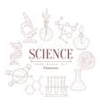 Science Vintage Sketch vector image