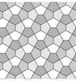 Seamless Geometric Pattern Pentagonal Regular vector image