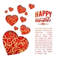 Valentine Heart Symbol vector image vector image