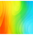 Abstract colorful background template vector image