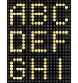Light Bulb ABC 1 vector image vector image