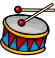 Drum clip art cartoon vector image