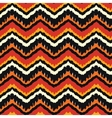 Orange Ethnic Pattern vector image