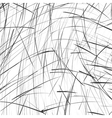 Abstract black and white pencil sketch background vector image