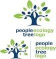 people ecology tree logo 2 vector image