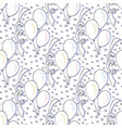 birthday pattern with balloons seamless vector image
