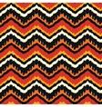 Orange Ethnic Pattern vector image