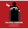 Political Campaign vector image