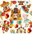 Amusement Park Seamless vector image